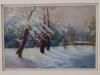 2nd Place - Tom Stephens - _Early Snow Marysville_ - Helen Beasy - Pastel cs